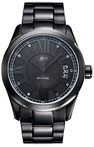 JBW Reloj Bond Negro Única