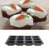 Lakeland My Kitchen Cook & Bake 12 Individual Squares Traybake Cake Tin