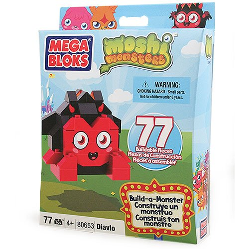 Moshi Monsters Mega Bloks Build-a-Monster Diavlo [80653] - 1