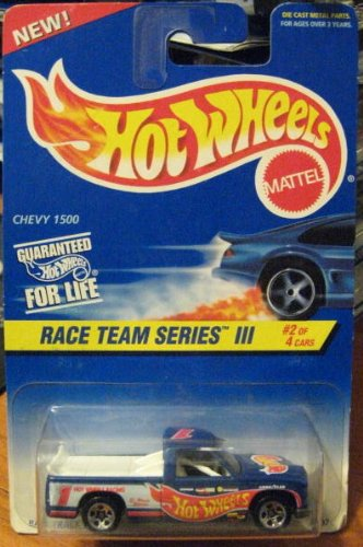Hot Wheels Race Team Series III Chevy 1500 Truck #534 1:64 - 1
