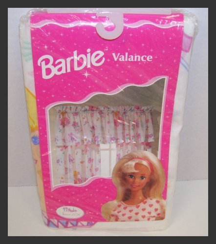 Barbie Doll Ballerina 84 X 15 One Rod Pocket Valance Made in U.S.A. - 1