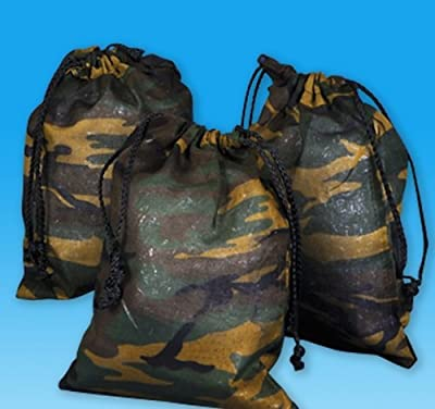 CAMOUFLAGE DRAWSTRING BAG, Case of 120 from DollarItemDirect