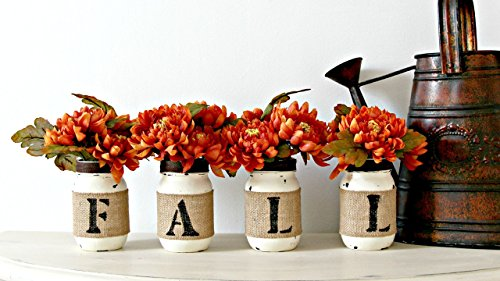Fall mason jars idea