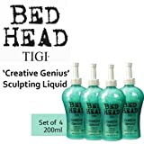 'Creative Genius' Sculpting Liquid Hair Hold *Set of 4* by TIGI Bed Head (200ml each).
