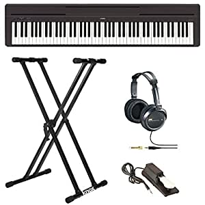 Yamaha P45B Digital Piano with Knox Double