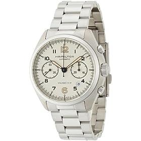 [ハミルトン]HAMILTON 腕時計 Khaki Pilot Pioneer(カーキ パイロット パイオニア) オートクロノ H76416155 メンズ 【正規輸入品】