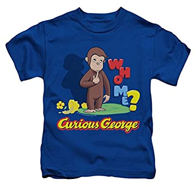 Curious George Who Me Juvy T-Shirt