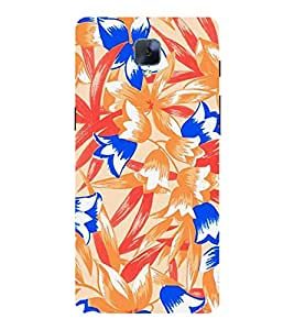 Abstract Floral Painting Cute Fashion 3D Hard Polycarbonate Designer Back Case Cover for OnePlus 3 :: OnePlus Three
