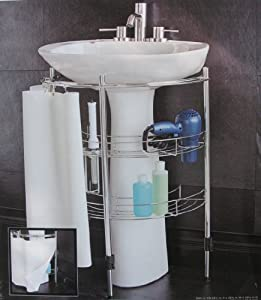 Under Sink Storage For Pedestal Sink : 301 Moved Permanently