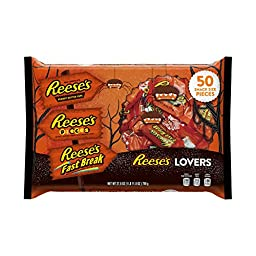 REESE\'S Lovers\' Halloween Assortment (27.8-Ounce, 50-Pieces)