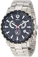 Brillier Men's 16-05 Endurer Stainless Steel Chronograph Swiss Quartz Watch from Brillier