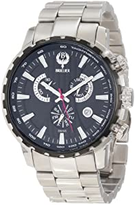 Brillier Men's 16-05 Endurer Stainless Steel Chronograph Swiss Quartz Watch
