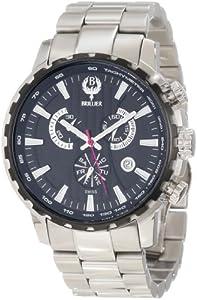 Brillier Men's 16-05 Endurer Stainless Steel Chronograph Swiss Quartz Watch