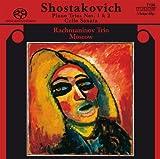 echange, troc  - chostakovitch: Piano Trios Nos. 1 & 2; Cello Sonata [Hybrid SACD]