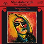 chostakovitch: Piano Trios Nos. 1 & 2...