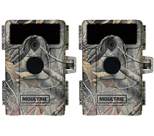 (2) MOULTRIE Game Spy W-900iXT No Glow Infrared Digital Game Cameras | 10MP