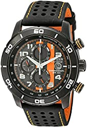 "Citizen Men's CA0467-11H Eco-Drive ""Primo"" Chronograph Sport Watch"