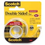 3M  Double-Sided Tape with Dispenser,...