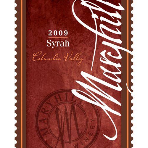 2009 Maryhill Winery Columbia Valley Syrah 750 Ml