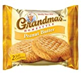 Grandma's Homestyle Peanut Butter Big Cookie, 2.5 Oz Bag (Pack of 20)