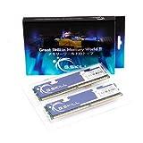 G.Skill PQシリーズ DDR2-800 2GB×2 CL5-5-5-15 F2-6400CL5D-4GBPQ
