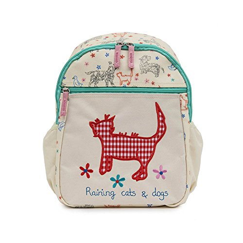 pink-lining-childs-mini-rucksack-toddler-backpack-raining-cats-and-dogs