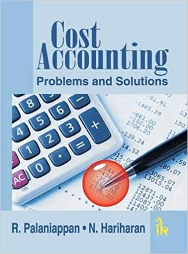 Cost accounting solved problems