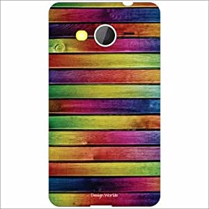 Design Worlds - Samsung Galaxy Core 2 Designer Back Cover Case - Multicolor...