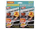 Brand new 2 x 3pk Magic Action Dishwasher Cleaning Tablets