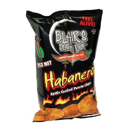 Blairs Habanero XXX Hot Chips - 43g