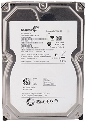 Seagate Surveillance Sv35 (ST31000528AS) 1 TB Desktop Internal Hard Drive