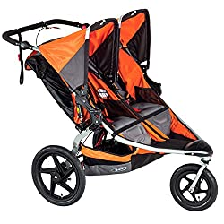BOB Revolution Pro Duallie Stroller Orange