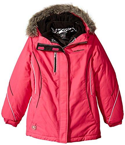 ZeroXposur Big Girls' Alex Systems Coat, Lollipop, Medium/10-12