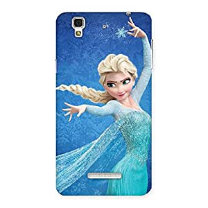 Ajay Enterprises Great Animated Frozings Back Case Cover for YU Yureka Plus