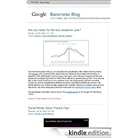 Google Barometer Blog