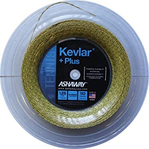 Buy Ashaway Kevlar Plus 17 REEL (360 ft.) Tennis String by ASHAWAY