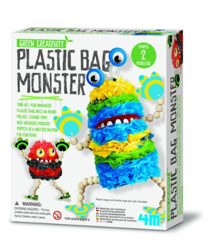 4M Plastic Bag Monster Kit
