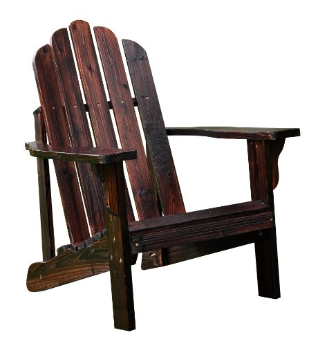 Shine Company Marina Adirondack Chair, Burnt Brown photo