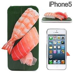 iPhone ケース お寿司 (トロ、エビ)