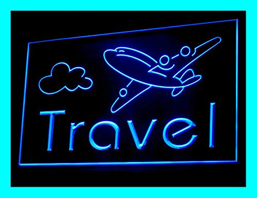 C B Signs Vacation Travel Agency Led Sign Neon Light Sign Display