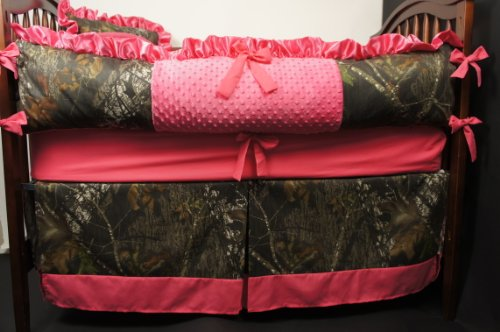 Custom Made Baby Crib Bedding Mossy Oak Break Up Camo Hot Pink Baby Shop