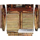 Wild West Saloon Door Design Print Image Playstation 3 & Ps3 Slim Vinyl Decal Sticker Skin By Trendy Accessories