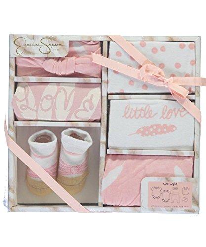jessica-simpson-baby-girls-little-love-6-piece-layette-gift-set-pink-0-3-months