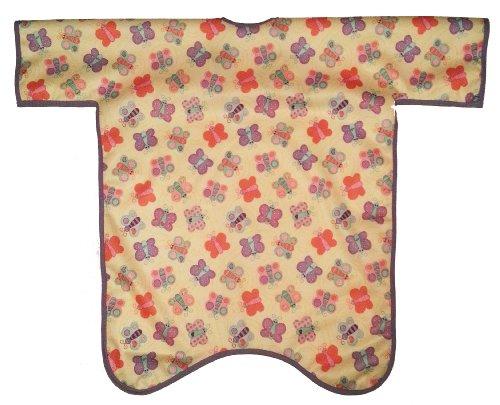 Body Bib - Full Coverage - Waterproof - Butterflies Baby Bib front-147577