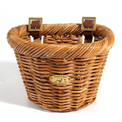 Nantucket Cisco D-Shaped Junior Front Handlebar Bike Basket