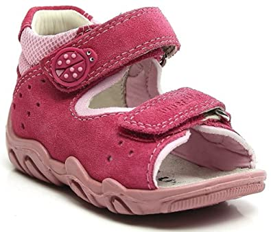 LEGeRO 0-00011-64 Unisex-child Sandal, Red 21 EU