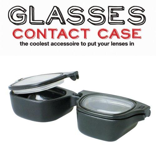 眼鏡型のコンタクトケース コンタクトレンズホルダー
