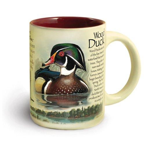 American Expedition Wildlife 16-Ounce Ceramic Mug (Wood Duck)