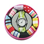 Ribbon Watch with Interchangeable Str...
