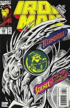 Iron Man, Vol. 1, No. 295, Aug 1993